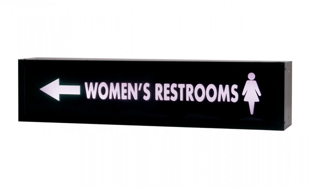 Restroom Sign RS-5