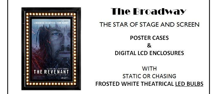 Broadway Poster Case CinemaCon 2014