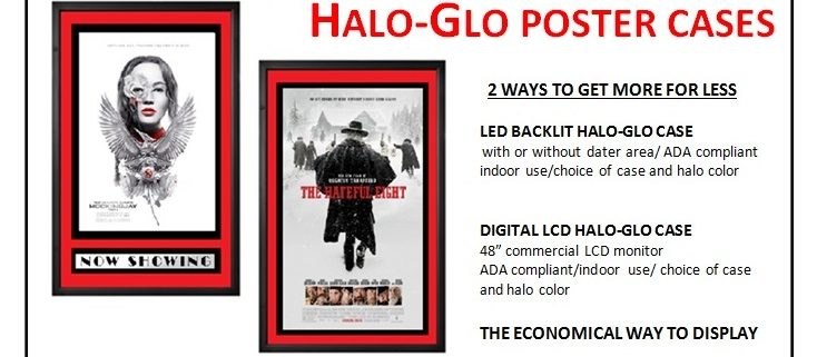 Halo Glo Poster Case CinemaCon 2015