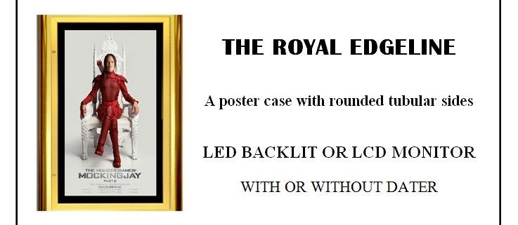 Royal Edgeline Poster Case CinemaCon 2017
